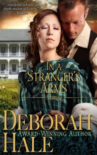 My lovely new cover for In A Stranger's Arms, designed by Kim Killion