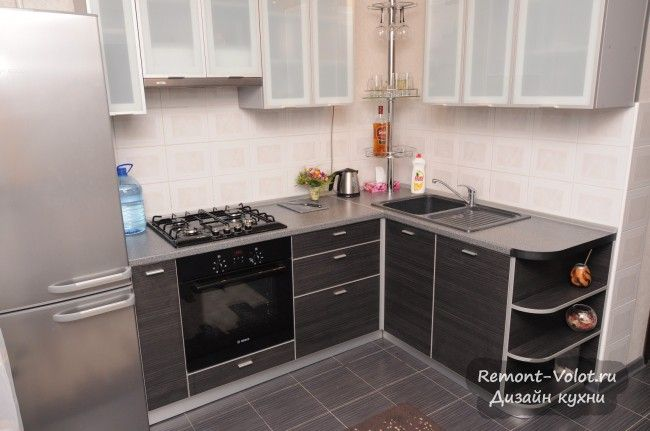 Проектирование и сборка кухни 6 кв. м своими руками (25 фото)