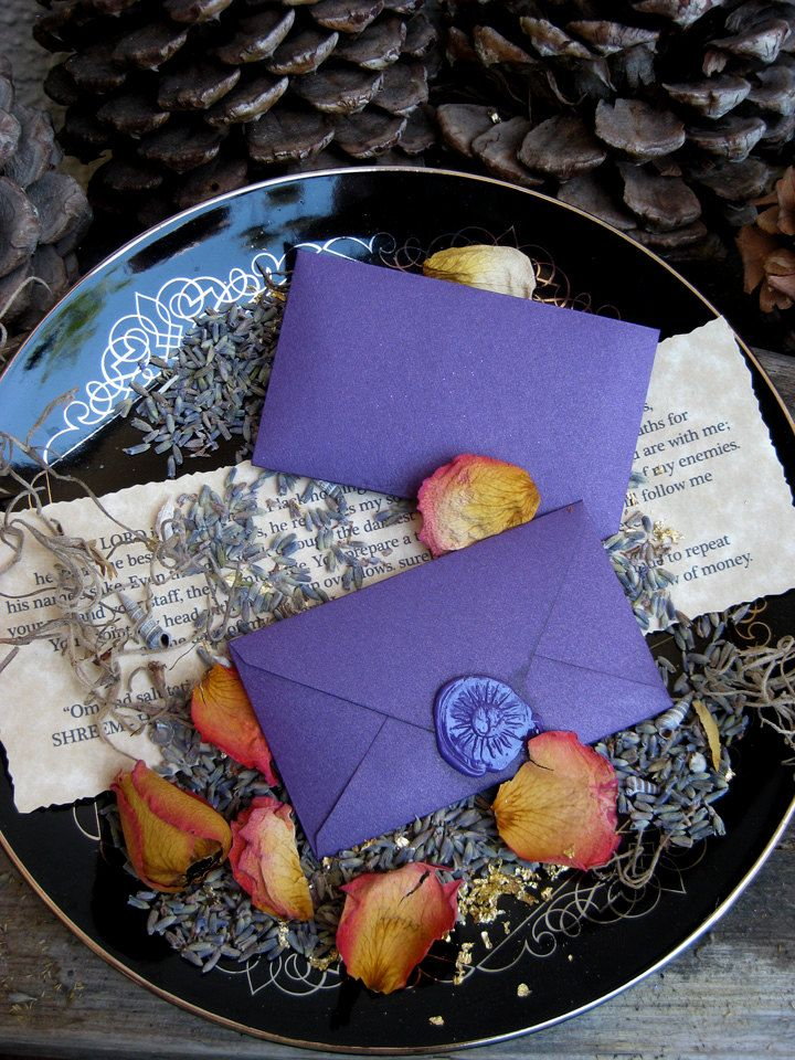 """Spellvelopes - adapt - write messages of affirmation and kindness, decorate, add some """"magic"""" ingredients (flower petals, feathers, hair or fur, small stone, seeds, etc.) to give to someone who needs some """"good magic"""""""