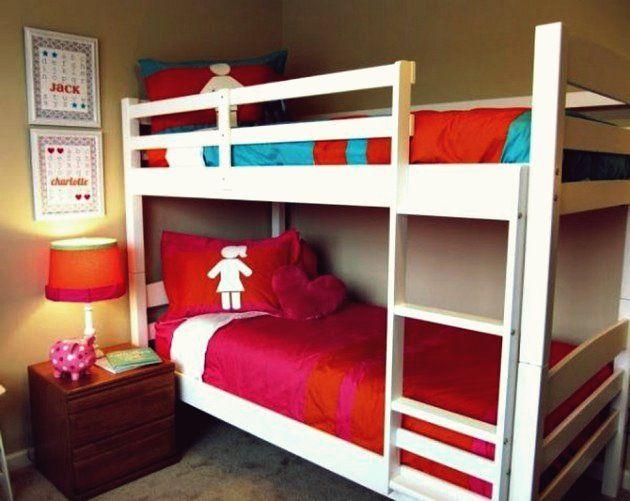14 Funktional Eingerichtete Mehrbettzimmer Fur Jungen Und Madchen Gemeinsames Schlafzimmer Gemeinsame Kinderzimmer Etagenbett Plane