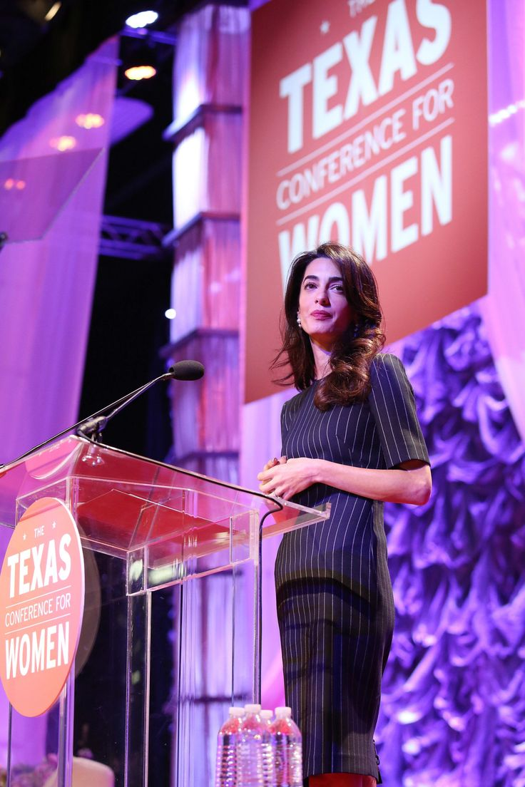 Amal Clooney Just Gave Donald Trump a Serious Warning