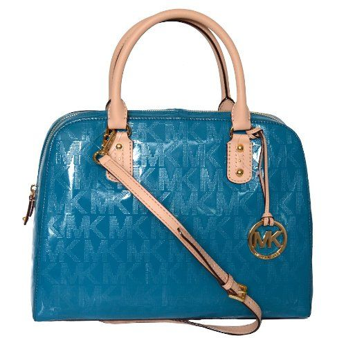 Michael Kors Mirror Metalic MK Signature LG Satchel « Better product Adds for any home