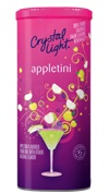 I can pretend to drink with my friends and still drive home :0)  Crystal Light Appletini anyone?