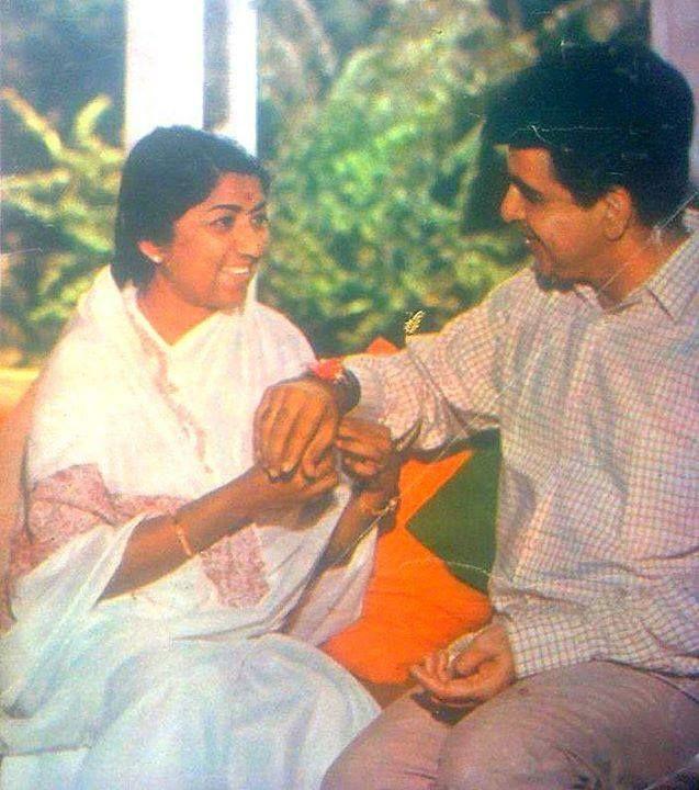 WITH  Lata Mangeshkar