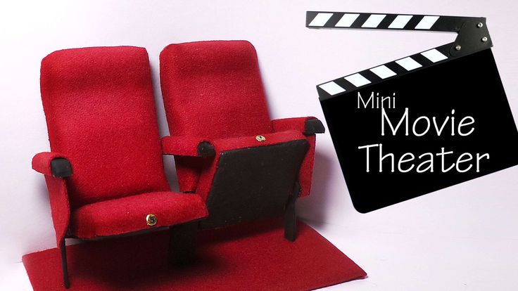 Hey guys! Today we're making some movie theater chairs for dolls/dollhouses. I've been wanting to make these for a while so I hope you like them :) Tried kee...