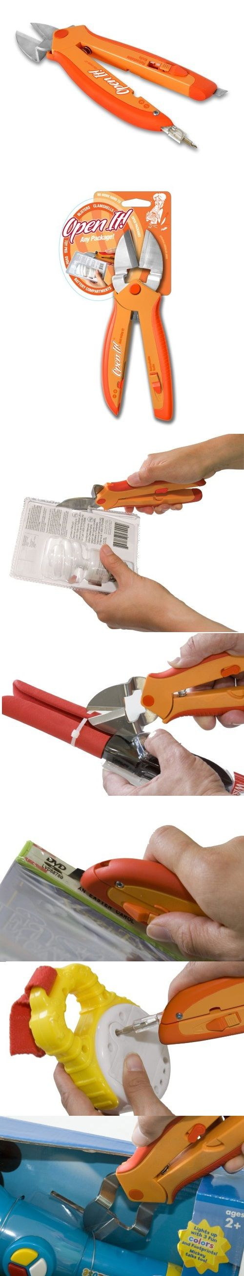 Open It Clamshell Packaging Opener Tool