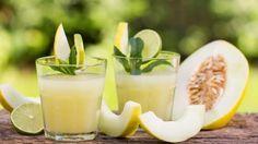 Яблочно-дынный напиток с лаймом и мятой. Пошаговый рецепт с фото на Gastronom.ru