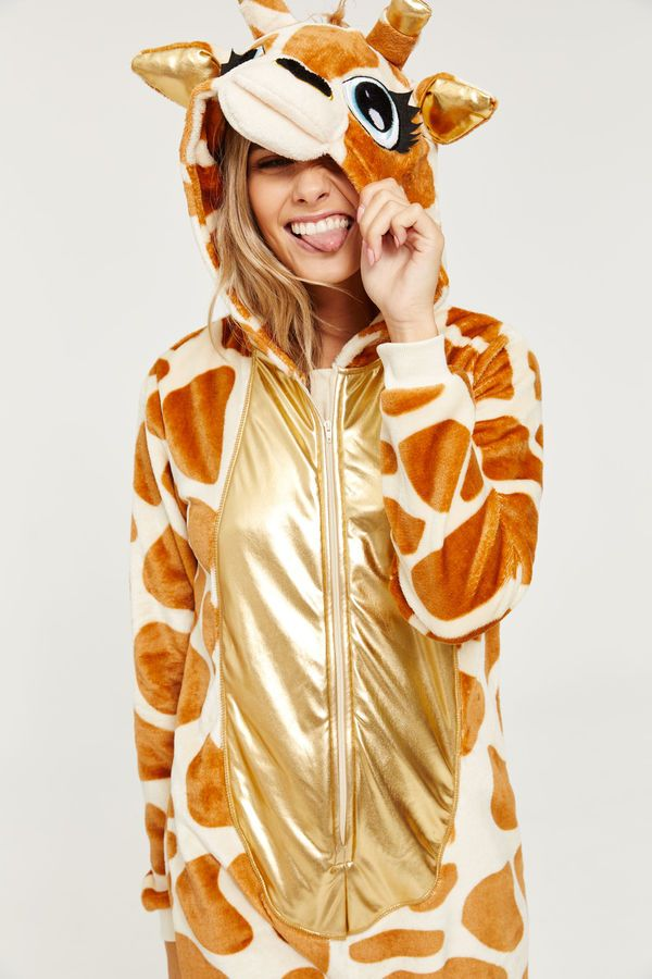 86d97cbbc Giraffe Onesie | ❤ HALLOWEEN in 2019 | Onesie costumes, Onesies ...