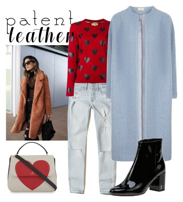 """""""Untitled #20"""" by tanya-dayal on Polyvore featuring Hollister Co., Burberry, Kate Spade and Yves Saint Laurent"""