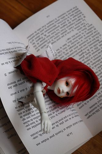 The Little Red Riding Hood #doll #grimm