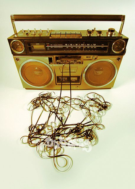 Ghettoblaster/Boombox