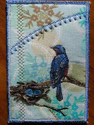 My Sweet Prairie: * Fibre Art: a lot of fiber art examples