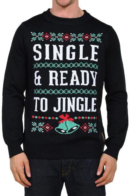 caacce6b3f99 Tipsy Elves Single   Ready to Jingle Sweater