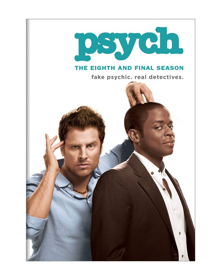 Psych sesong 2-8 (DVD)