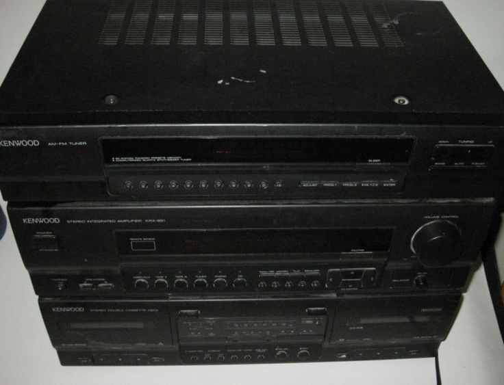 Pinterest Home All: Rare Vintage Kenwood Compact All In One Home Stereo SYstem