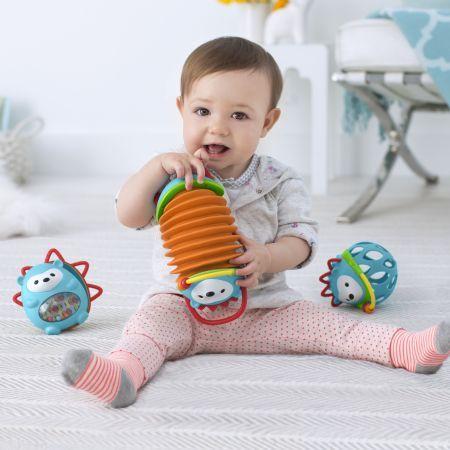 Skip Hop Explore & More Musical Hedgehog Accordion - Toys - Canada's Baby Store
