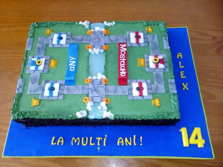 CLASH ROYALE CAKE - Cake by Camelia