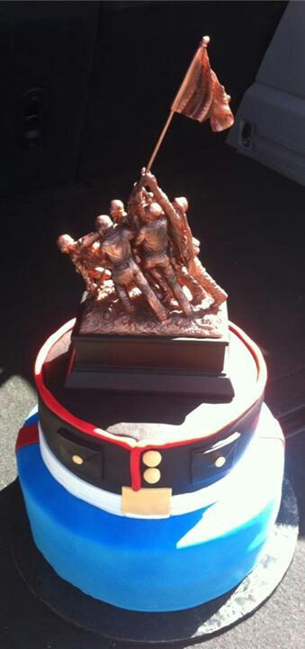 Edible Iwo Jima Cake Images