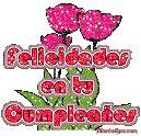 Felicidades en tu Cumpleaños con flores