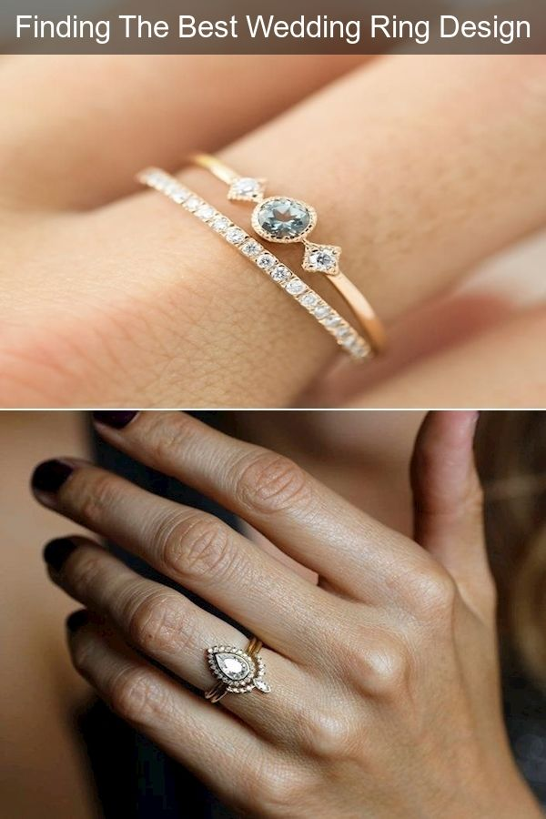 Engagement Bands Build Your Own Engagement Ring Gold Square Engagement Rings In 2020 Cool Wedding Rings Wedding Ring Designs Ring Designs