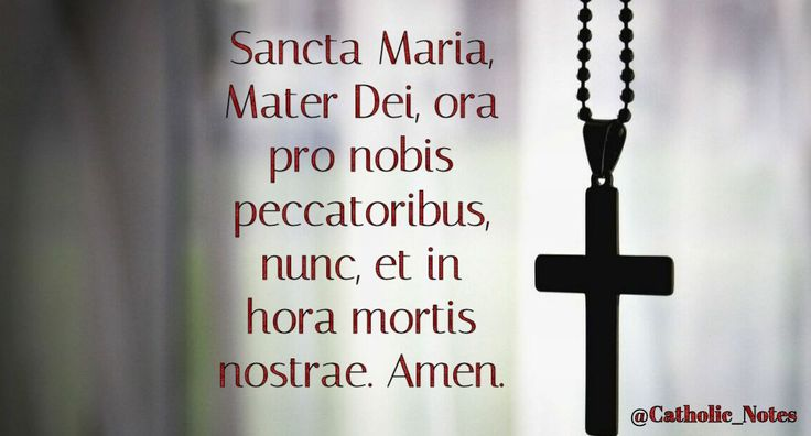 Nunc Et In Hora Mortis Nostrae: 17 Best Images About Catholic_Notes On Pinterest
