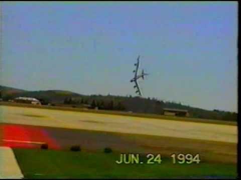 In 1994 an Crash of a B-52 at Fairchild Air Force Base.