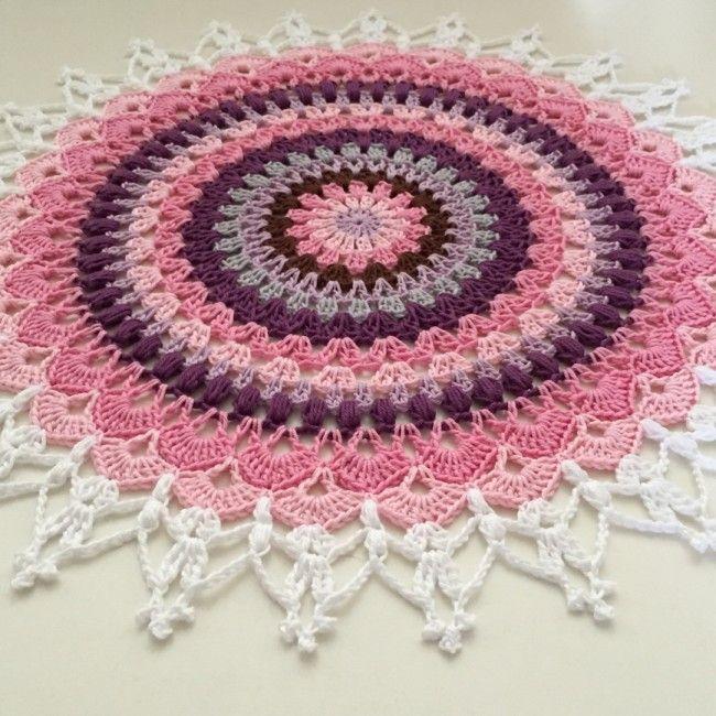 209 besten Deckchen Handarbeiten Bilder auf Pinterest | Tischdecken ...