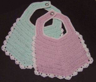 Crochet Baby Bib | Free Craft Project