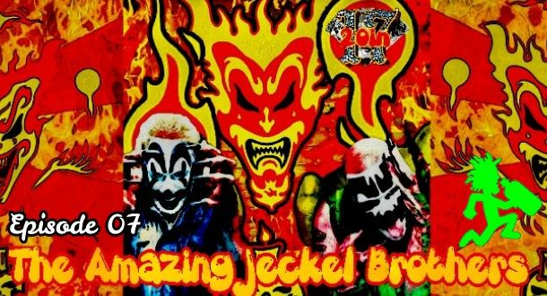 Chapter 7 of 20in17 titled Amazing Jeckel Brothers is available now!   Chapter 7 on the docu-series 20in17 all about the history of the Insane Clown Posse over the past 20 years is now available for your listening pleasure! On this episode Brandon goes over everything relating to the era of the 5th Jokers Card of the first deck the Amazing Jeckel Brothers.  This includes singles and samplers available at that time The Juggalo Show that aired on 105.1 back in 99 The Howard Stern Show MTV News…