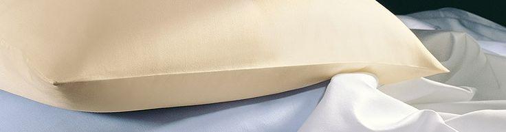 Stets edel: hochwertige Bettwäsche in uni