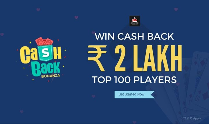 Grab This Exciting Offer at Classicrummy. Play Rummy and Win Cash Back of Worth Upto Rs.2 Lakh!  #rummy #rummygame #cashback #onlinegames #games #playrummy #classicrummy