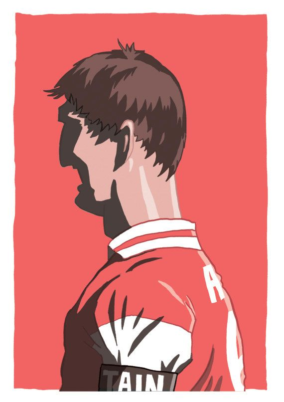 Tony Adams by Footynews on Etsy