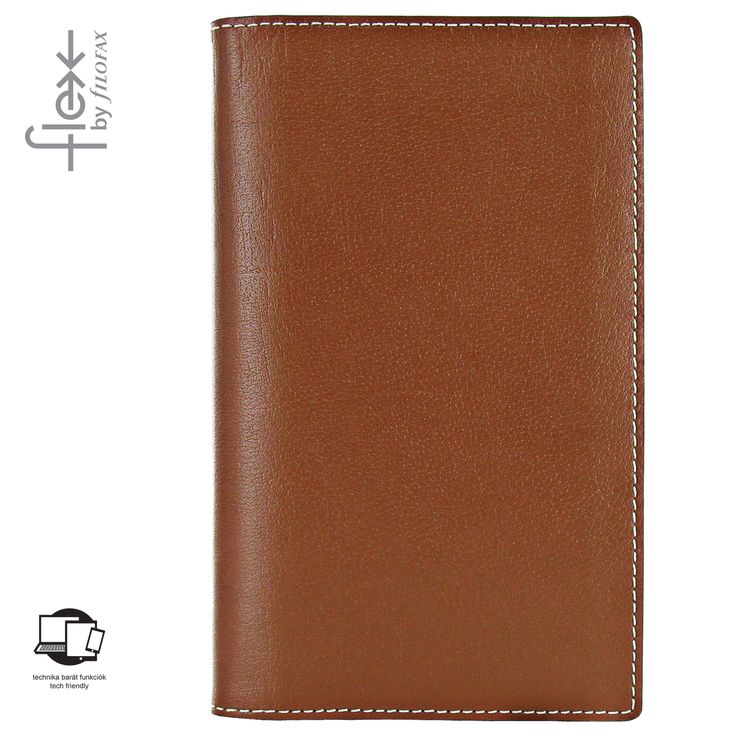 Filofax Flex Natural Slim Tan