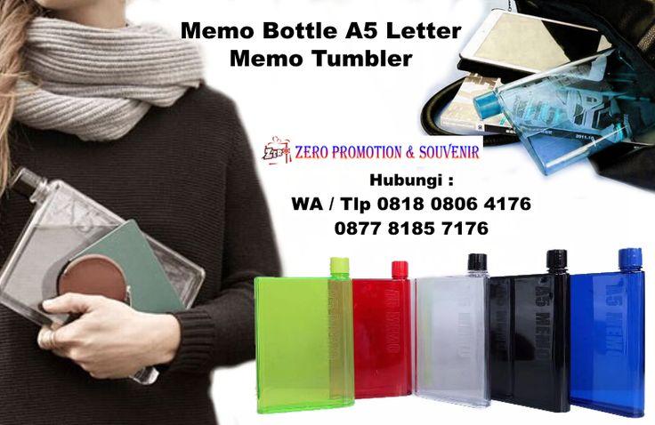 Jual Memo Tumbler – Memo Bottle A5 Letter
