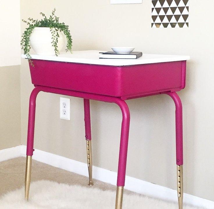 Furniture Find: Best 25+ Old School Desks Ideas On Pinterest