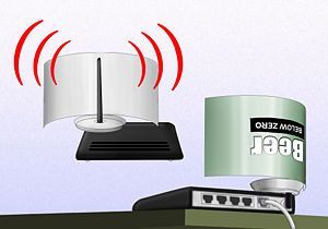 Boost your Wi-Fi signal with a beer can (another beer related activity for Andy)