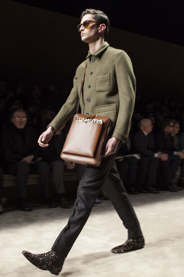 The strongest look from Burberry Fall 13