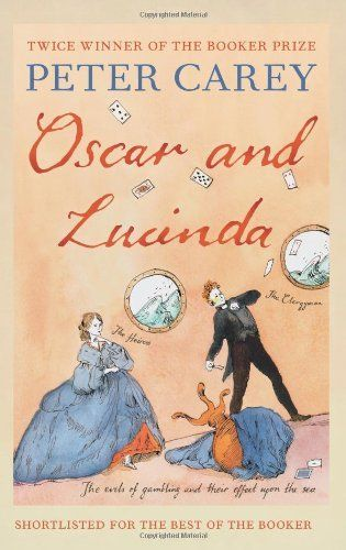 Oscar and Lucinda by Peter Carey, Movie. good, read excellent!