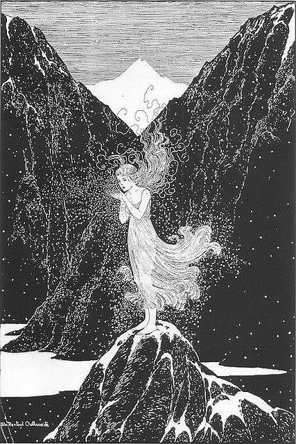 The Fairy of the Snow Ida Rentoul Outhwaite 1888-1960