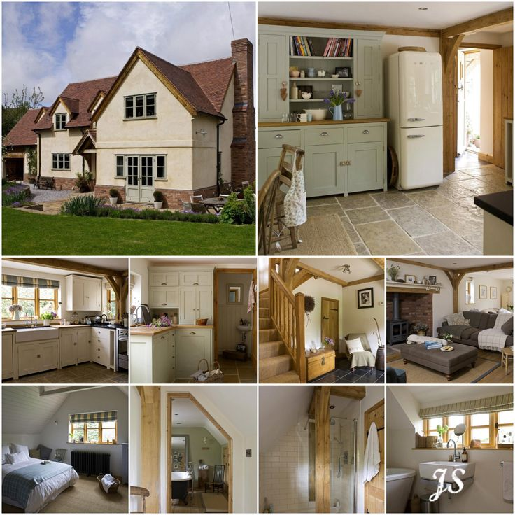 A Border Oak Cottage by Joanne Sandford - Images by Border Oak