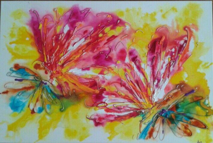 Mate 24 X 36  #MiLaRTiZe #creativity #painting #share #art #acrylicpainting #AnnieCharlot