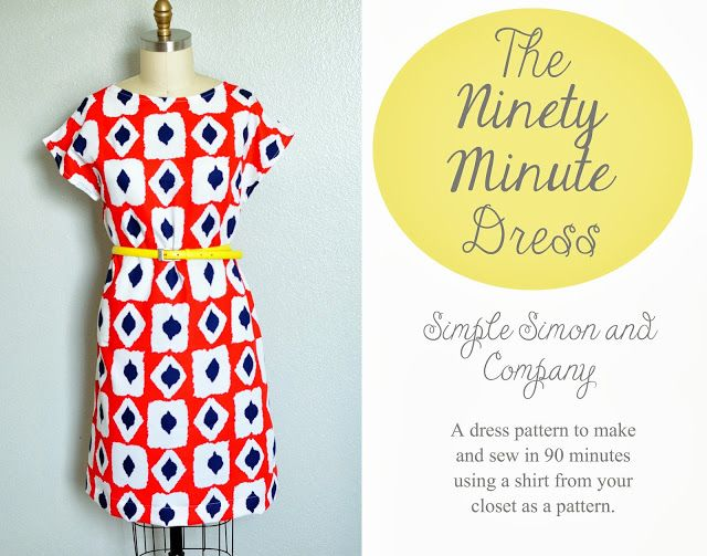 The 90 Minute Dress Tutorial | Simple Simon and Company