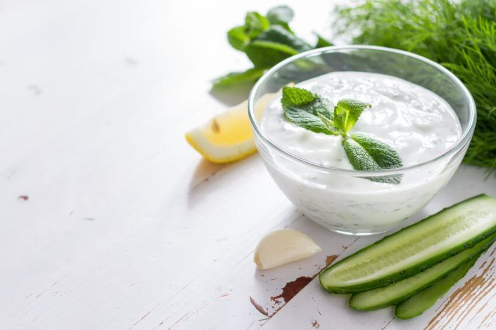 Joghurt Minzsauce