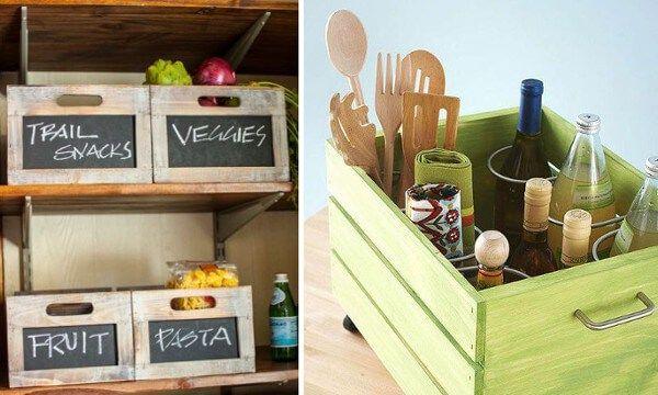 Reciclaje de cajones ideas para la cocina