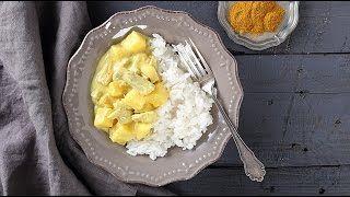 Kevesebb, mint 30 perc és kész a finom ebéd/vacsora: Currys-ananászos pulyka -most egyperces videóval!