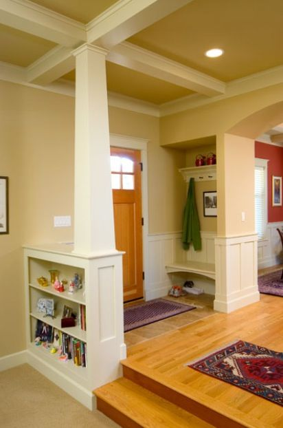 Like the bookcase and wainscotting