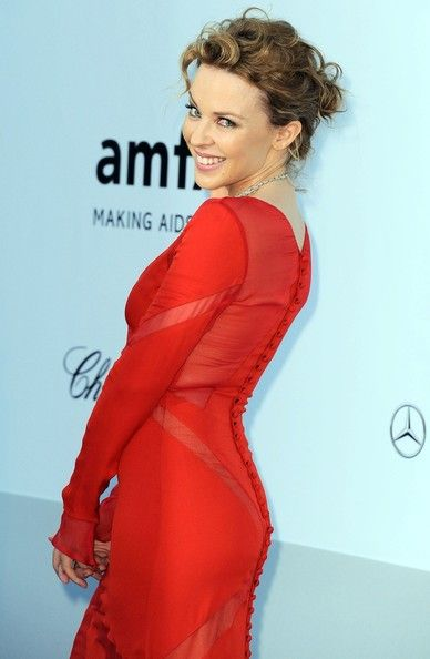 More Pics of Kylie Minogue Bobby Pinned updo (3 of 4) - Kylie Minogue Lookbook - StyleBistro