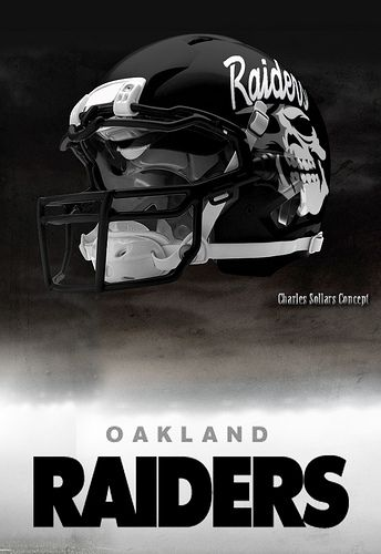 Oakland Raiders Nail Art: 27 Best Images About Raider Concept Helmets And Uniforms