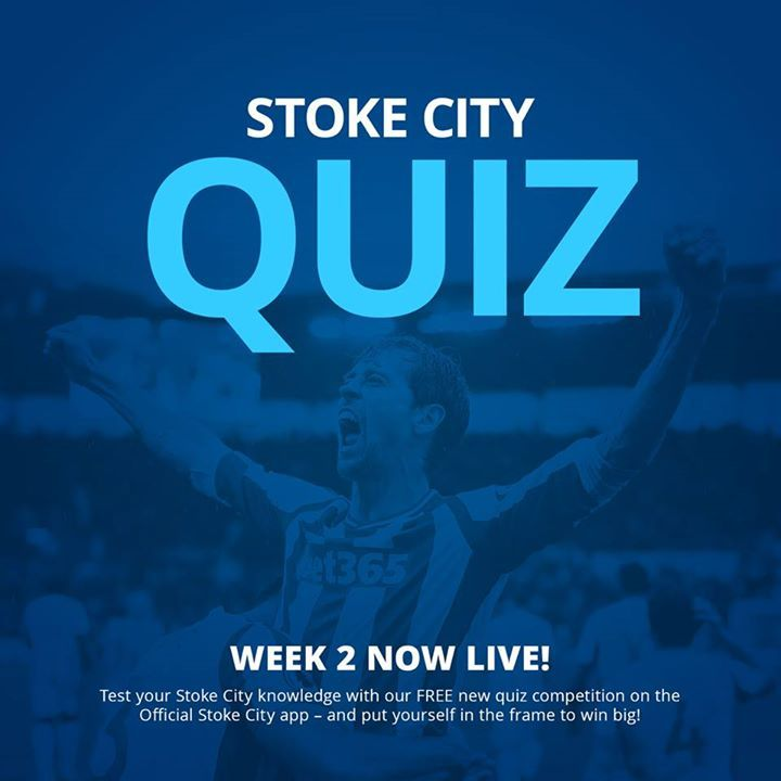 Test your Stoke City knowledge with our quiz on the Official Stoke City app. Simply download the app & register for your chance to win big!!  As well as monthly prizes, the overall winner of the competition will bag two season cards for the 18/19 season at the bet365 Stadium!  Download the app now from the Apple App Store or Google Play Store #fashion #style #stylish #love #me #cute #photooftheday #nails #hair #beauty #beautiful #design #model #dress #shoes #heels #styles #outfit #purse…