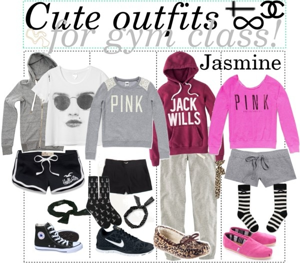 U0026quot;Cute outfits for gym class!u0026quot; by teenage-to-teenage-tips-xo liked on Polyvore | Great outfit ...